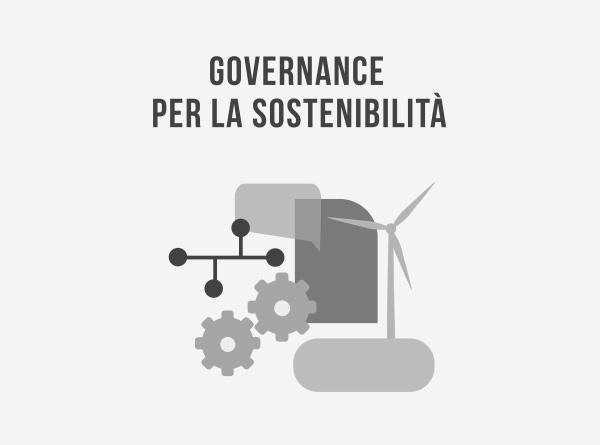 La governance per la sostenibilità
