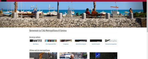 #genovametropoli, è online il nuovo sito istituzionale