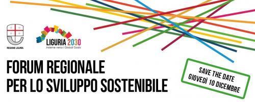 Primo Forum regionale dello sviluppo sostenibile