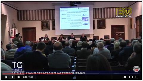 Entella TV: Il Piano strategico metropolitano - interviste al Sindaco Levaggi ed al Sindaco Metropolitano Marco Doria
