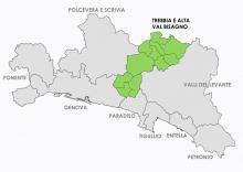 Zona Omogenea - Trebbia e alta val Bisagno